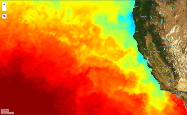 Monterey Bay Water Temperature