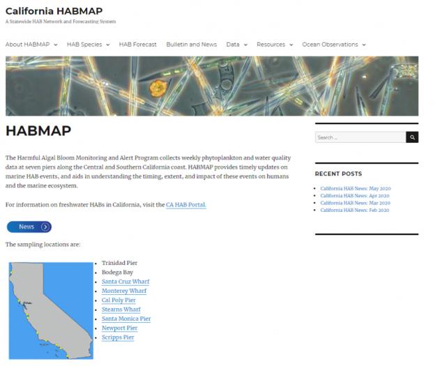 California HABMAP