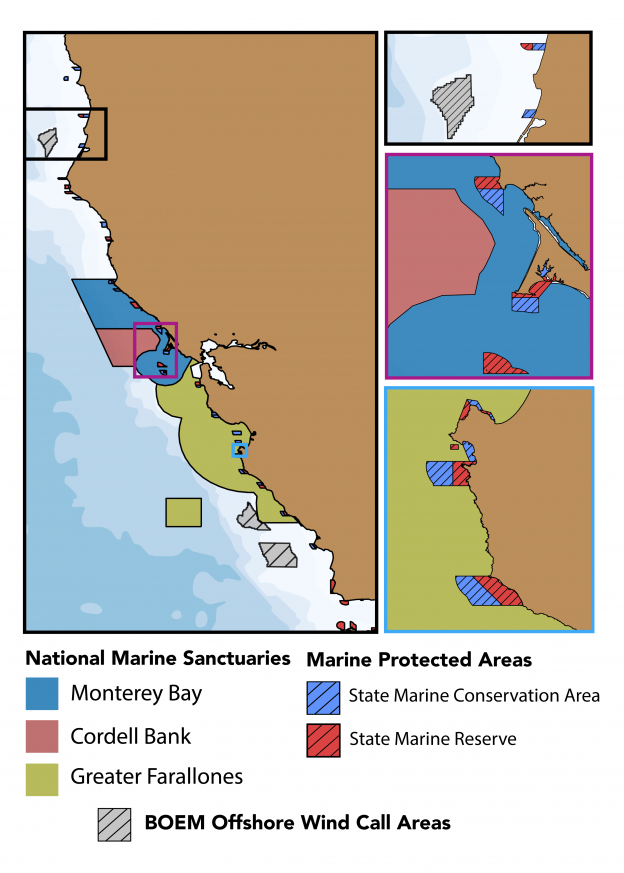 National Marine Sanctuaries in the CeNCOOS Region
